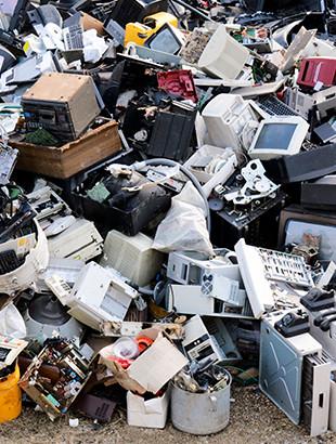 ¿Qué puedo hacer para reducir los residuos electrónicos?