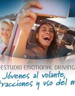 ¿Cuál es el uso que hacen los jóvenes del móvil en el coche?